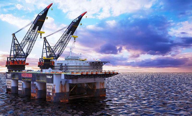 南海西部石油平台